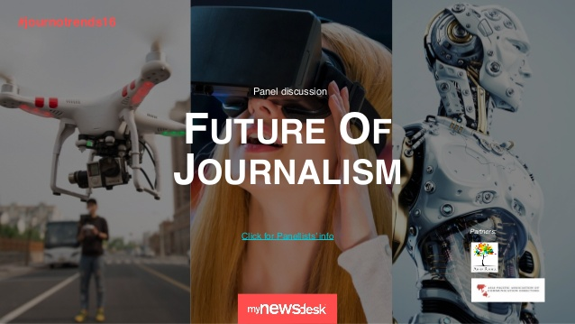Internationaal onderzoek MyNewsDesk Future of Journalisme 2016