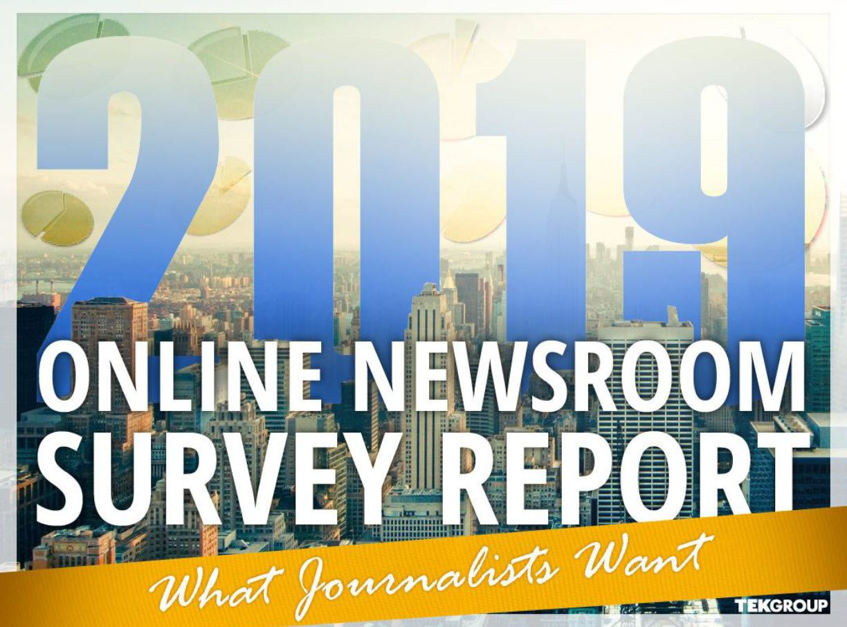 2019 Tek Group Online Newsroom Survey Report